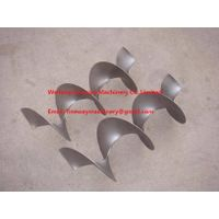 Stainless steel screw blade/helical blade