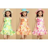 Sleeveless children's clothing Girls' Dresses