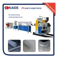 PVC steel wire reinforced hose making machine KAIDE thumbnail image