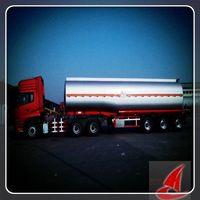 Stainless Steel Acid Tanker,fuel tank semi-trailer for sale