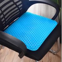 BK-H2 Big Size TPE Seat Cushion Honeycomb Non Slip Cooling Gel Seat Cushion thumbnail image