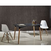 Popular Home Furniture Marble Effect MDF Dining Table