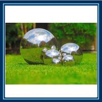 mirror finished stainless steel ball for garden decoration thumbnail image