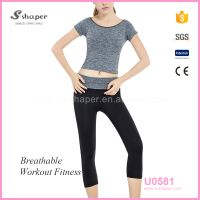S - SHAPER Yoga Fitness Sports Wear For Girls Yoga Pants Set