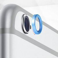 "Moblie Rear Camera Lens Protective Ring for iPhone 6 5.5"" - Blue"