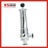 1-6bar 316L Sanitary Stainless Steel Adjust Pressure Safety Valve thumbnail image