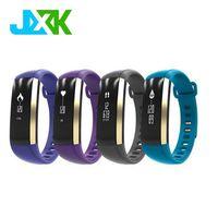 Blood Pressure Smart Bracelet Heart Rate Monitor Pedometer Bluetooth 4.0 Smart Bracelet JXK- M2 smar