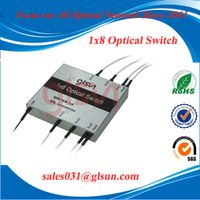 GLSUN 8+1 Fiber Optical Switch