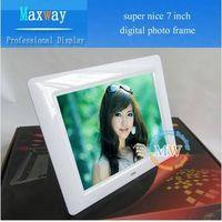 "Super nice 7"" digital photo frame lcd thumbnail image"