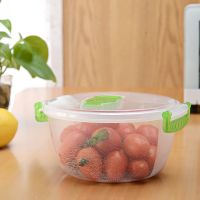 hot sell plastic fruit fresh box/food container with good sealing thumbnail image