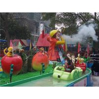 Yehua Land Amusement Park Equipment Outdoor Children Playground Equipment Huaguoshan Rafting