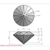 produce and supply high quality cubic zirconia diamond.