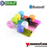 Hands free silicone bluetooth speaker with suck mini speaker, speaker with sucker