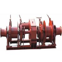 Combined Anchor Windlass/Mooring Winch