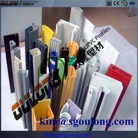 Plastic extrusion pvc profiles