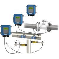 Wall Mounted Digital Ultrasonic Flow Meter