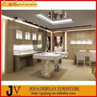 Shop counter table design jewelry showroom displays show case display thumbnail image