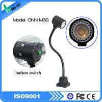 M3S 5W mini LED flexible gooseneck machine light cnc lighting