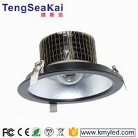 Made in china led lighting Kaiming ce rohs 50w 60w 80w 100w round led ceiling downlight recessed