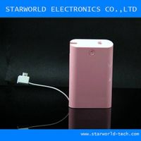 universal portable power bank for 7800 mAh for all cellphone
