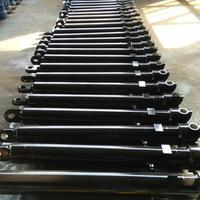 hallite seal dump truck hydraulic telescopic cylinder