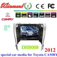 8inch 2din car dvd player for TOYOTA CAMRY 2012 with PIP+DVD+SWC+3G etc DH8008 thumbnail image