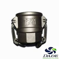 STAINLESS STEEL CAMLOCK COUPLINGS Type-D