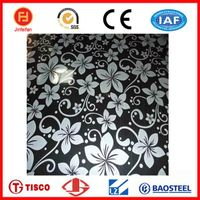 Color Etching Stainless Steel Sheet