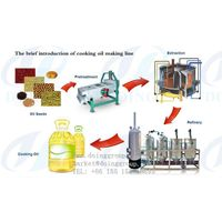 Rapeseed oil extraction making machine