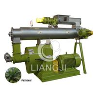 Ring Die Palm leaf granulator
