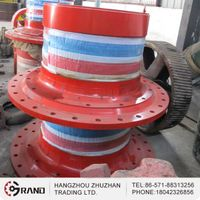 OEM Ball Mill Steel Casting Hollow Shafts