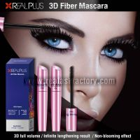 REALPLUS waterproof 3D Fiber Eye Lash Mascara Distributor