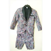 Custom Boy Jacket with short trouser a clothin g set