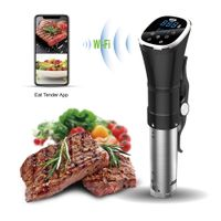 Use W Vacuum Sealer Bluetooth WIFI Immersion slow Circulator Sous Vide machine Precision Cooker thumbnail image