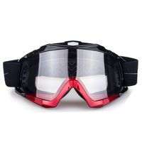 clear lens unisex motocross goggles