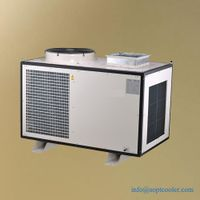 4 Ton Mobile spot air cooler for service room and telecommunication equipment cabinet thumbnail image
