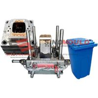 80L dustbin mold