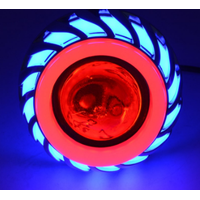 Round 10w work light bike driving led lamp winker lamp angel eye projector light led for motorcycle thumbnail image