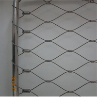 Architectural Surface Plant Climbing Net/Stainless Steel X-Tend Wire Rope Mesh thumbnail image