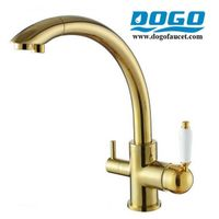 3 Way Tri-flow Kitchen Mixer Taps