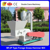 Forage grass hammer mill straw grinding shredder machine