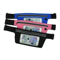Cellphone bag with PVC touch window