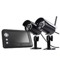 First Alert DW-702 Two Camera Digital Wireless Security Recording System with 7-Inch LCD Display thumbnail image