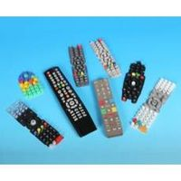 Silicone rubber remote control keyboards, keypads, keys and buttons thumbnail image