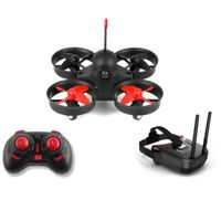 Micro FPV Racing Drone with 800TVL Camera,VR Goggles, FOV 120°Wide-Angle Live Video Quadcopter, One