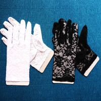 2015 New Fashion China Wholesale Short Style Lace Gloves