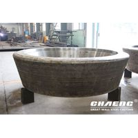 Steel casting veritcal mill roller tyre thumbnail image