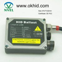 12v55w AC digital HID xenon ballast from ISO CE FCC approved factory
