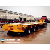 Modular Trailer - Hydraulic Multi Axle Trailer-manufactured by CHINAHEAVYLIFT thumbnail image