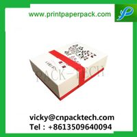 Modern Superior Embossing Handmade Paper Jewelry Storage Boxes Hamper Donut Cookie Gift Paper Box thumbnail image